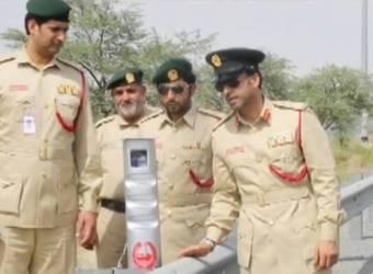 كاميرا جديدة من تطوير شرطة دبي لرصد مخالفي الخط الأصفر