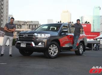 تحدي قدرات تويوتا لاندكروزر 2016 في دبي