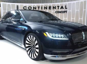 معلومات رسمية عن سيارة لينكولن كونتيننتال 2017
