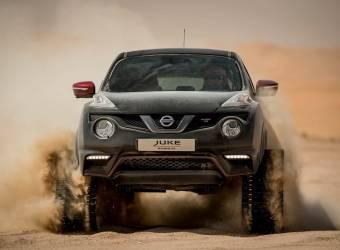 نيسان جوك نيسمو RS المجنزرة تقوم بجولة في صحراء أبوظبي