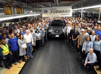 فولكس فاجن تبدأ بصنع أكبر سيارة لها في أمريكا
