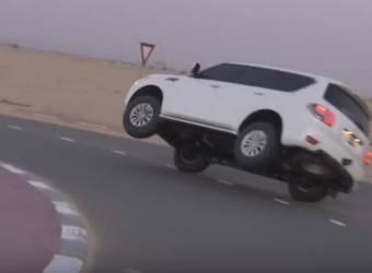 السلطات الاماراتية تعاقب مالك سيارة نفذ مقلباً بوالدة صديقه