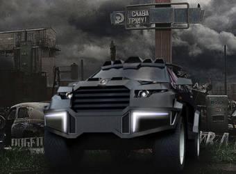 دارتز تكشف عن سيارة القرش الأسود