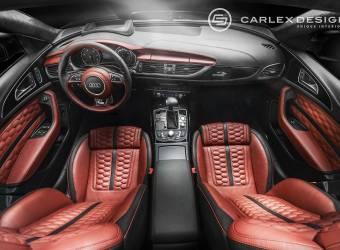 Carlex Design تقدم عملية تعديل احترافية لداخلية اودي ايه 6 أفانت