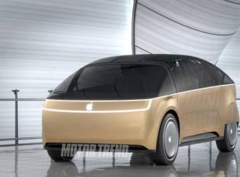 هل هكذا سيبدو شكل أول سيارات Apple