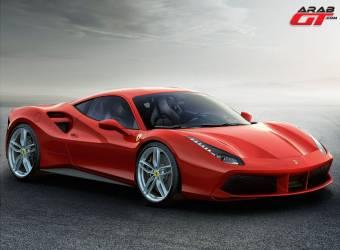فيراري تكشف عن 488 GTB كبديلة عن 458 ايطاليا