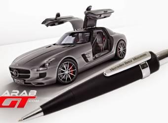 قلم ايه ام جي يصدر أصوات محرك مرسيدس اس ال اس