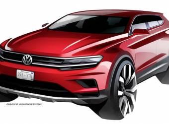 VW تكشف عن ملامح سيارتها القادمة تيجوان Allspace