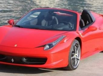فيراري 458 إيطاليا سبايدر 2013