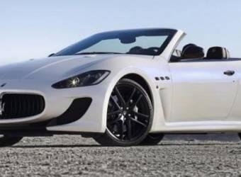 مازيراتي غران كابريو ام سي 2013 Maserati GranCabrio MC