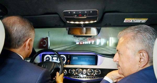 نتيجة بحث الصور عن أردوغان يفتتح أول نفق للسيارات تحت مضيق البوسفور