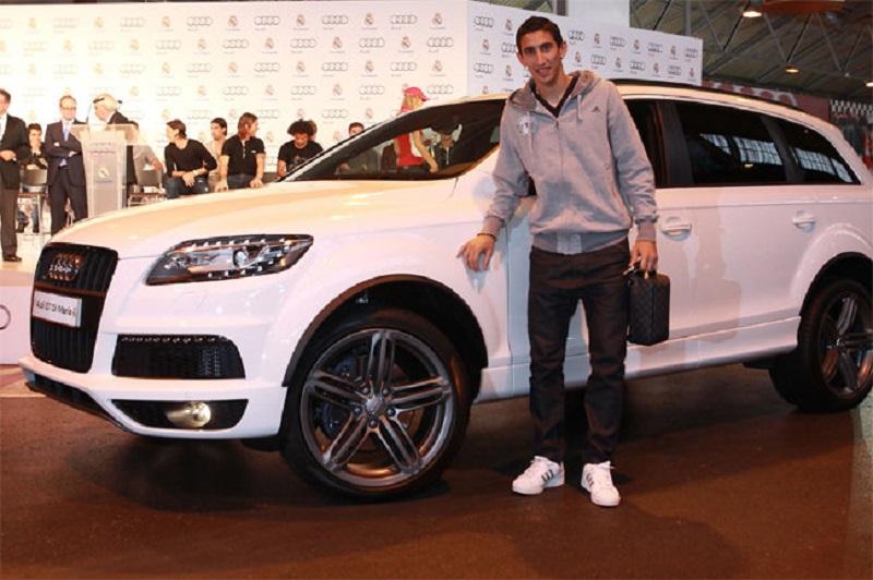 سيارات أنخل دي ماريا نجم منتخب الأرجنتين في كأس العالم 2014