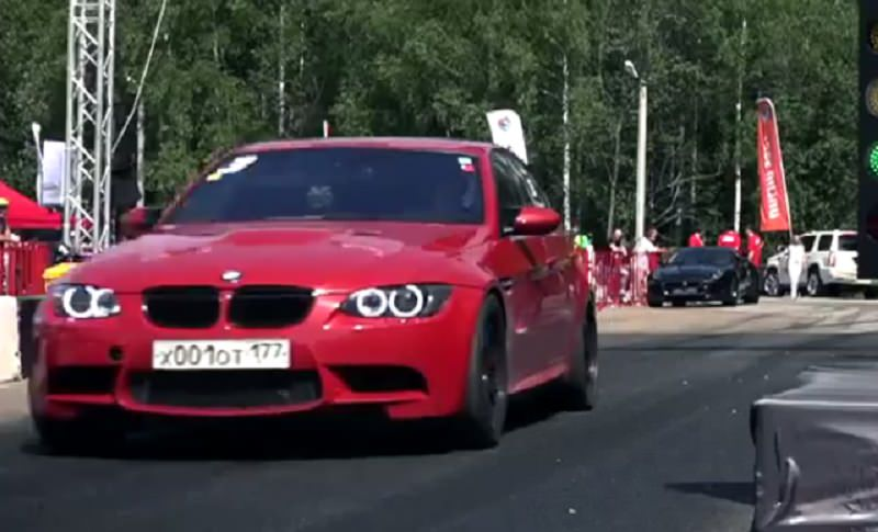 M3 معدلة تتوج بلقب أسرع سيارة سيدان دفع خلفي في العالم
