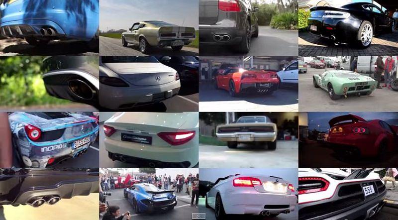 قائمة بأفضل أصوات السيارات المزودة بمحرك V8