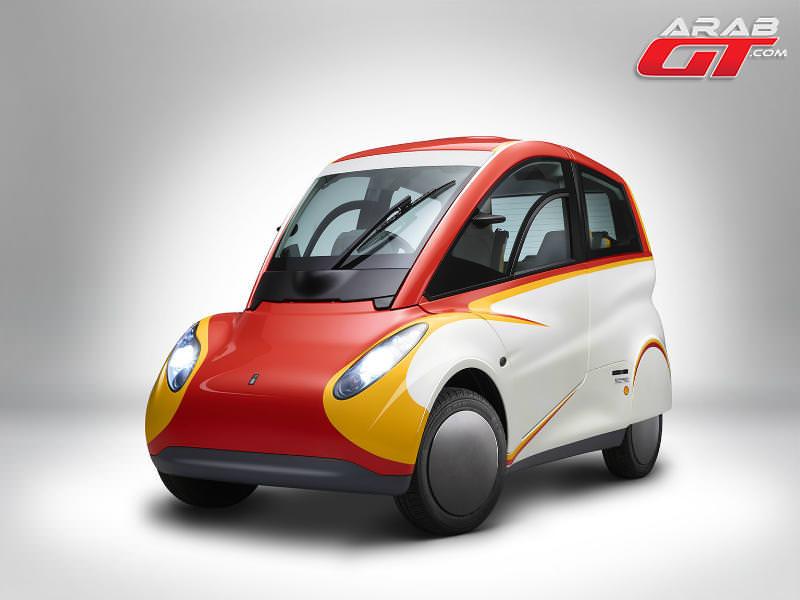 سيارة شيل الصغيرة ستبهرك بمواصفاتها Arabgt