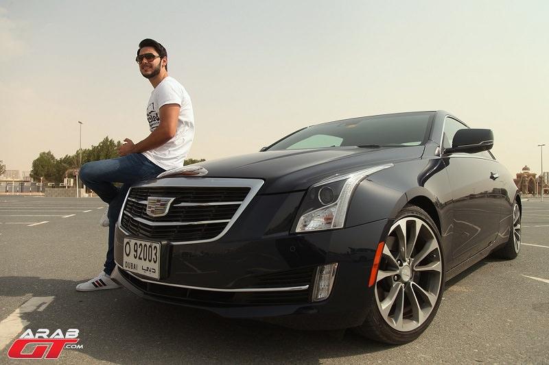 كاديلاك ATS كوبيه 2015 تحت تجربة عرب جي تي
