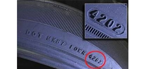 تاريخ إنتاج إطار السيارة