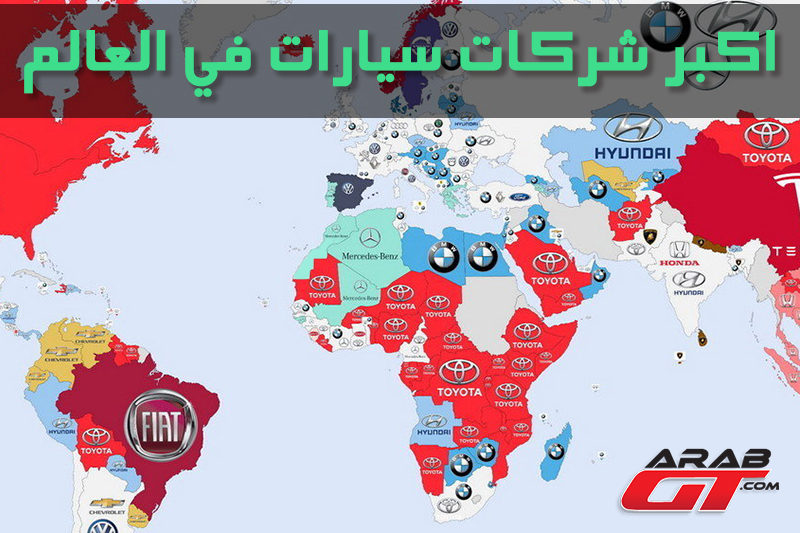 أكبر شركات السيارات في العالم