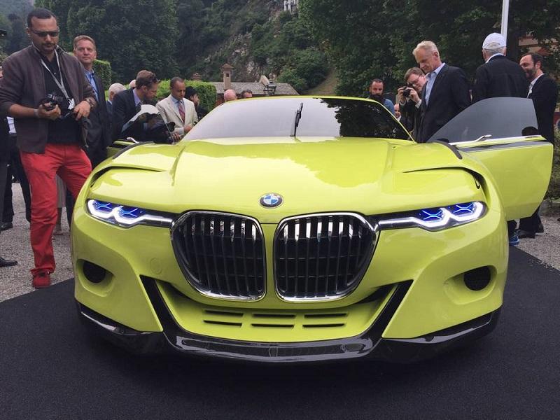 بي ام دبليو 3.0 سي اس ال هوماج سيارة جديدة جريئة