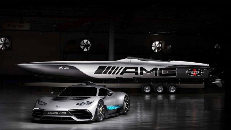 قارب مرسيدس AMG