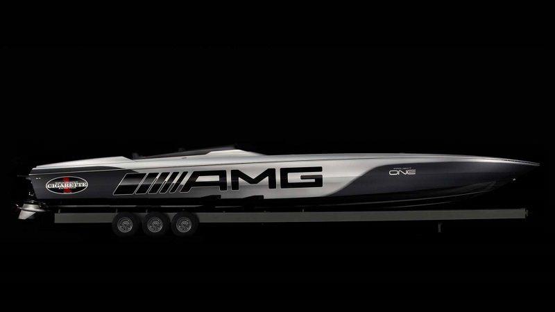 قارب مرسيدس