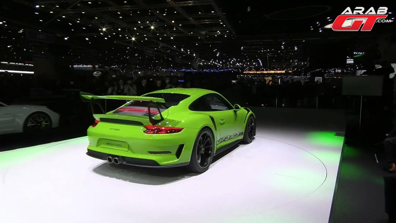 بورش 911 GT3 RS 2019