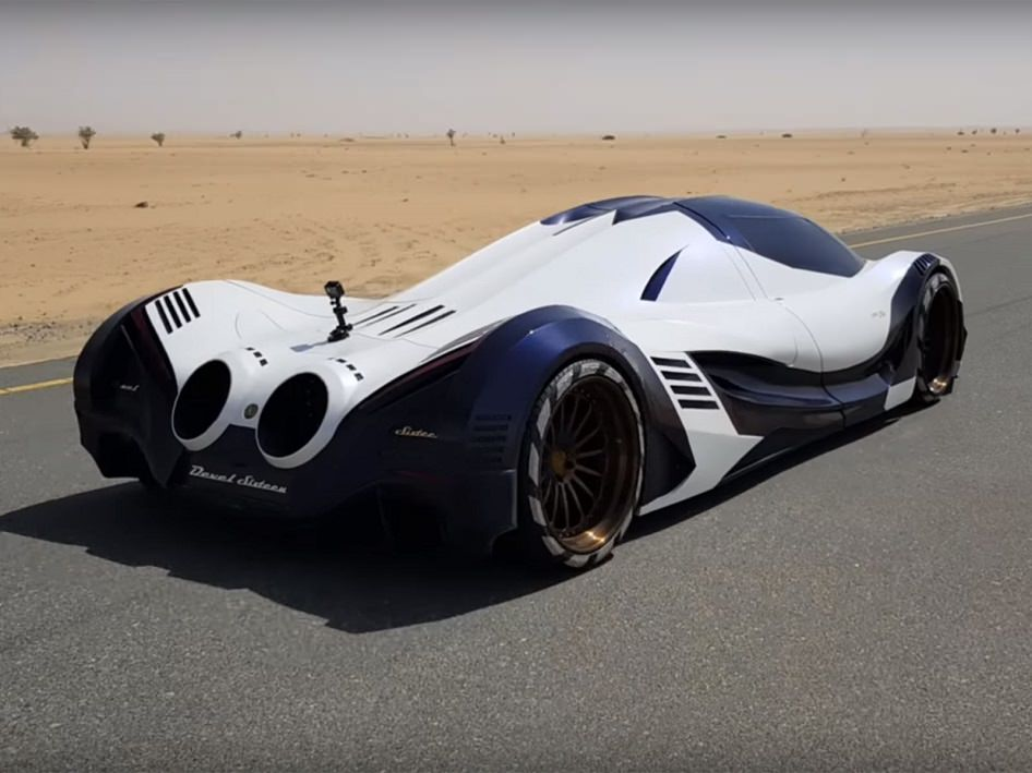 السيارة العربية Devel Sixteen