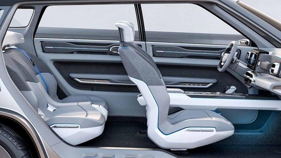 مقاعد سيارة جيلي