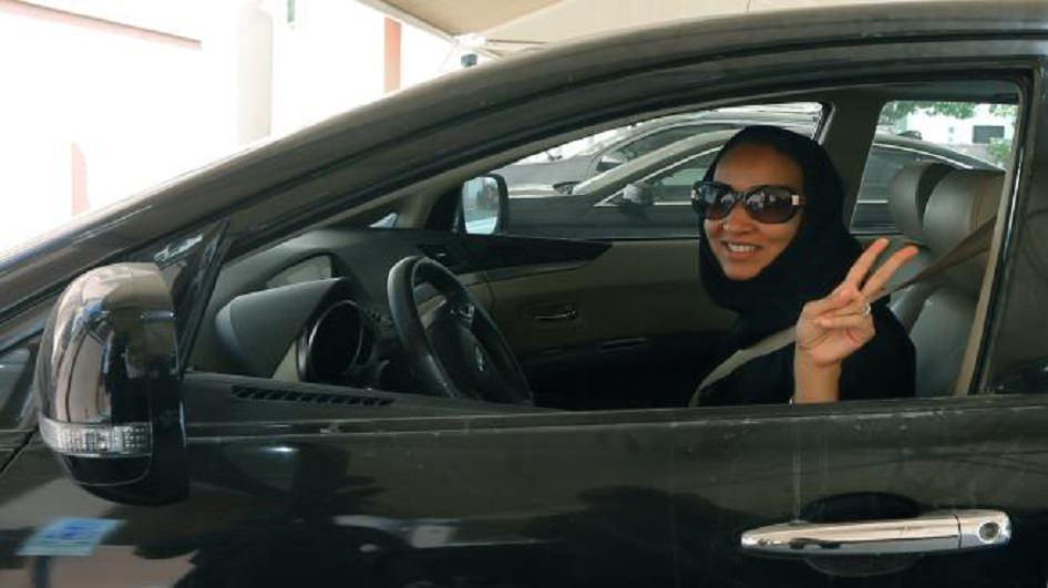 قيادة المرأة في السعودية