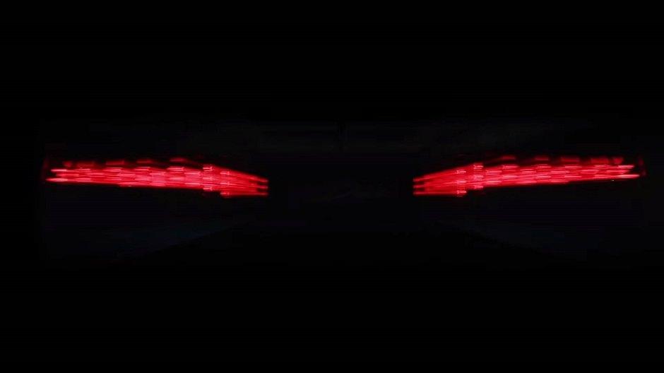 اضواء سيارة بوغاتي