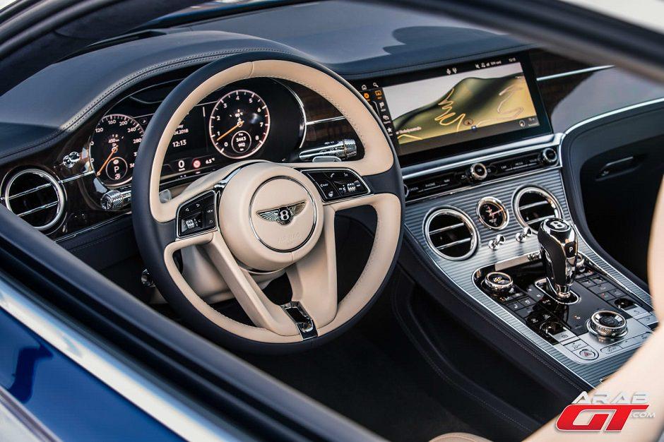سيارة بنتلي كونتيننتال Gt 2019 حصلت على نظامي صوتي متطور