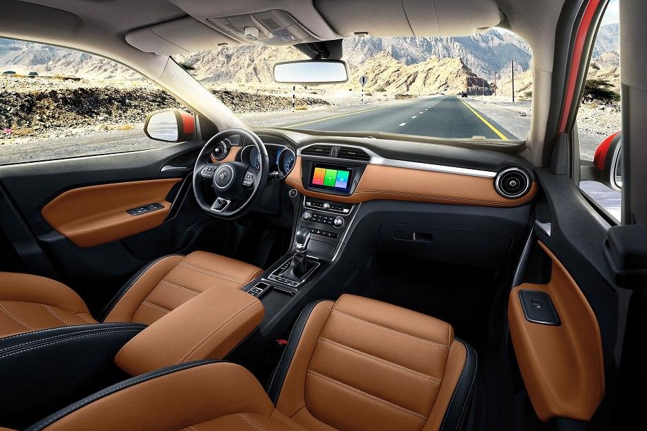 داخلية سيارة MG GS 2019
