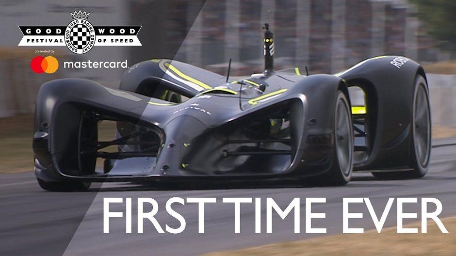 سيارة سباق ذاتية القيادة