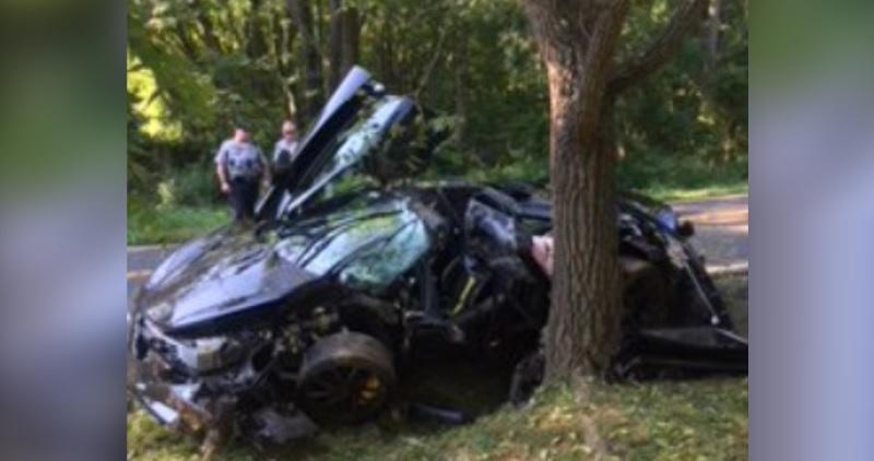 حادث سيارة ماكلارين