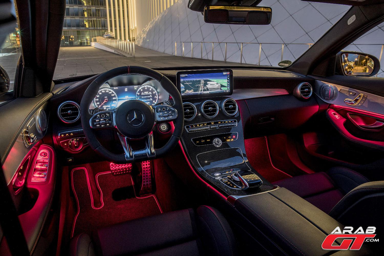 Mercedes C43 Amg >> مرسيدس C Class 2019 المحدثة تخضع لاختبارنا الأول برفقة ...
