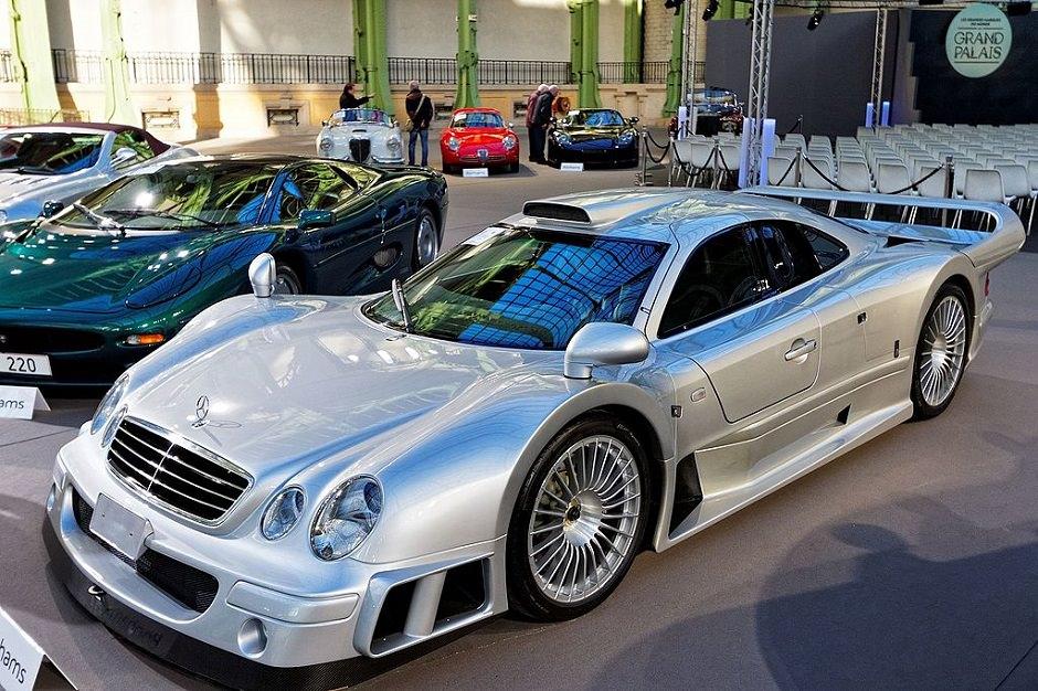 Mercedes SLK GTR