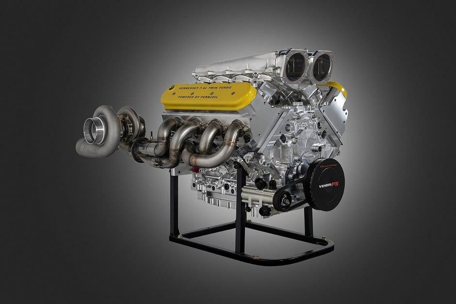 محرك اسرع سيارة في العالم