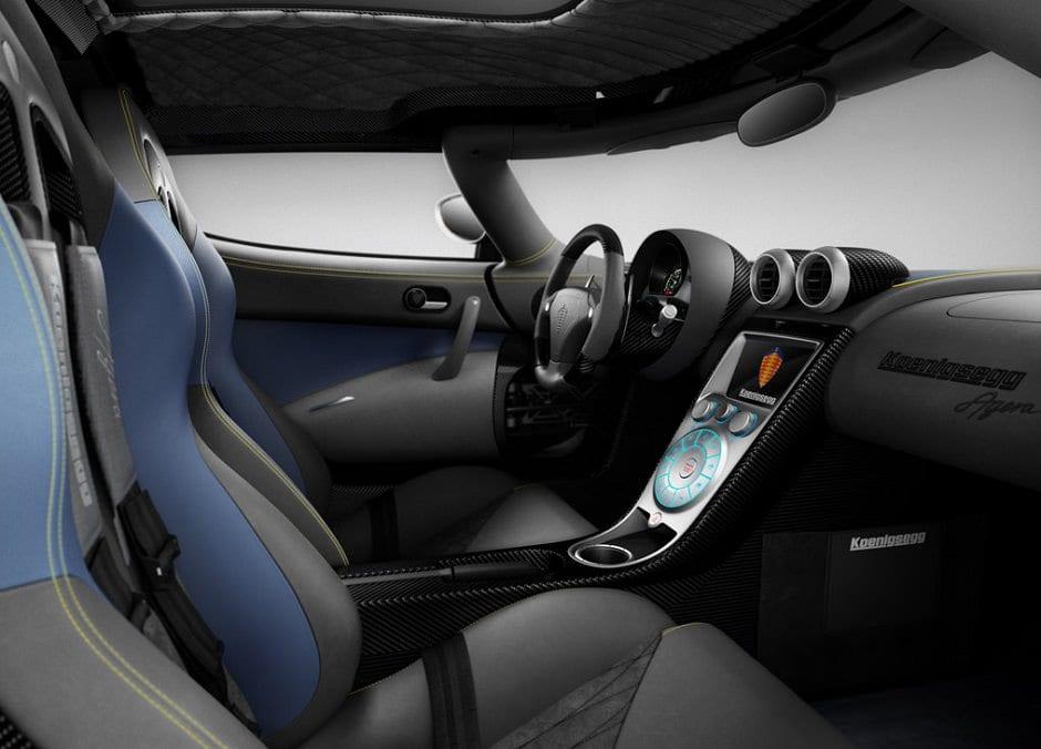 داخلية Koenigsegg Agera