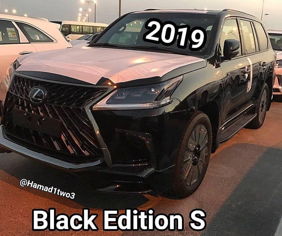 لكزس LX570 بلاك ايدشن S 2019