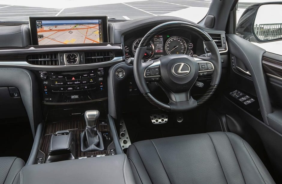 داخلية لكزس lx 570 s 2019