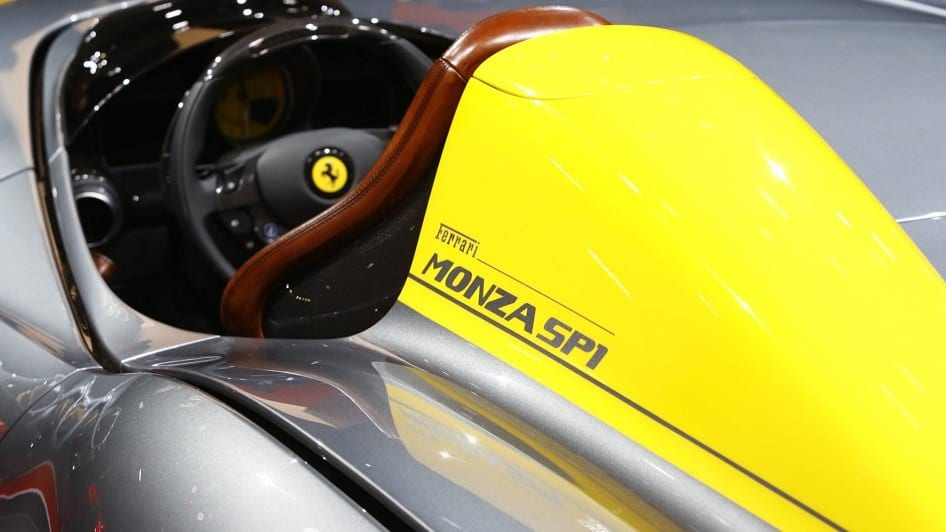 شركة فيراري تطلق سيارة جديدة