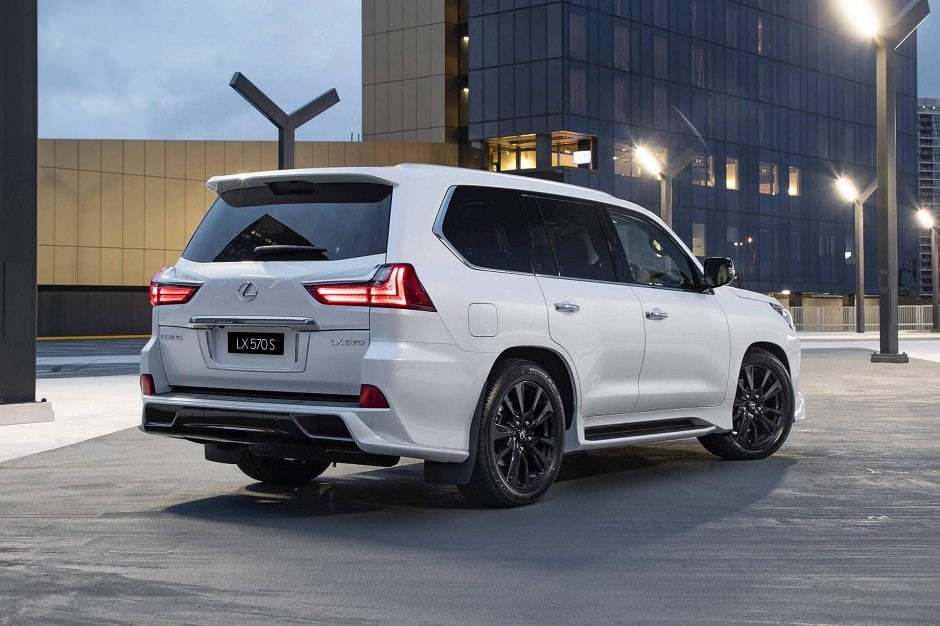 سيارة لكزس lx570 s 2019