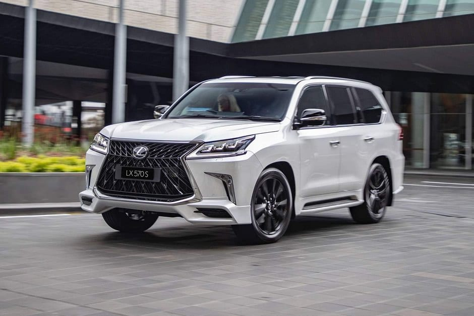new lexus lx570 s