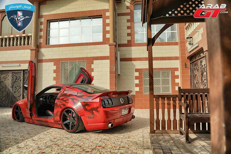 سيارة فورد موستنج معدلة