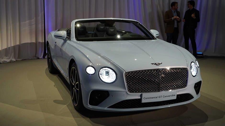 بنتلي كونتيننتال Gt Convertible 2019 أجدد سيارة كشف في العالم Arabgt