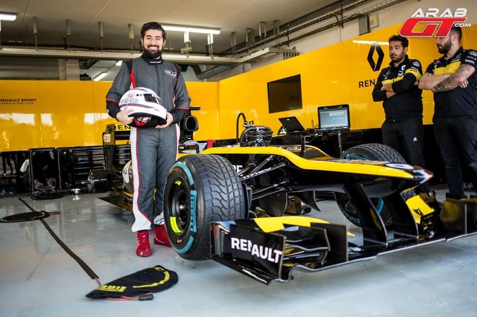 Renault f1 car