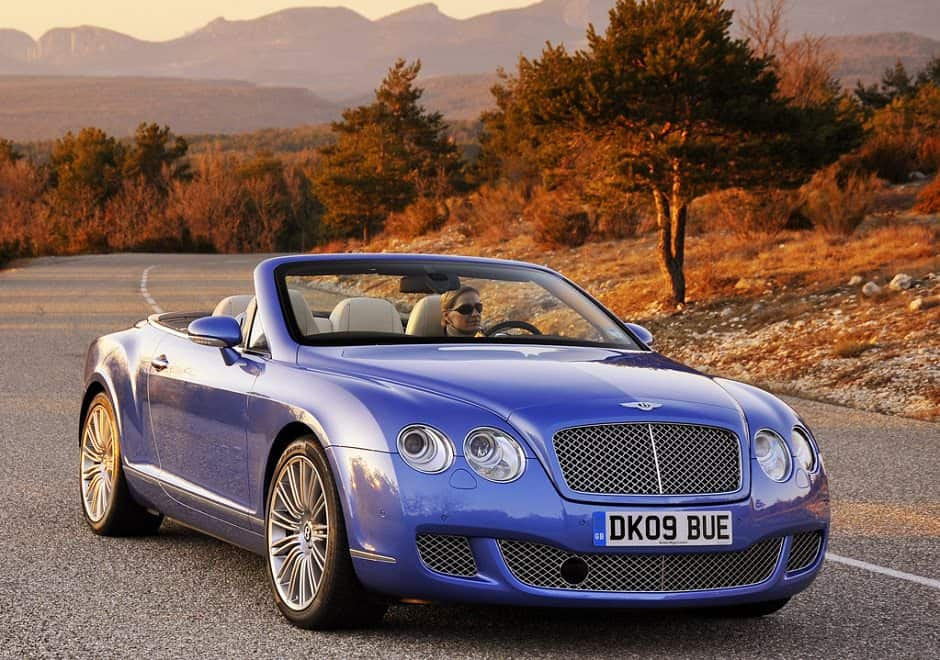 Speed Bentley Continental GTC