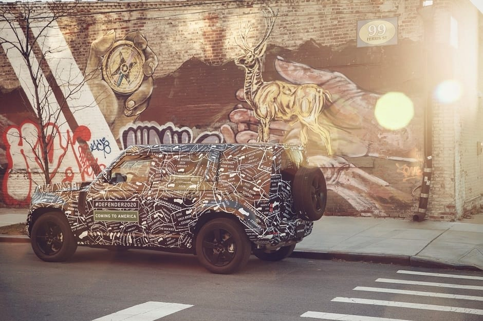 سيارة ديفندر 2020