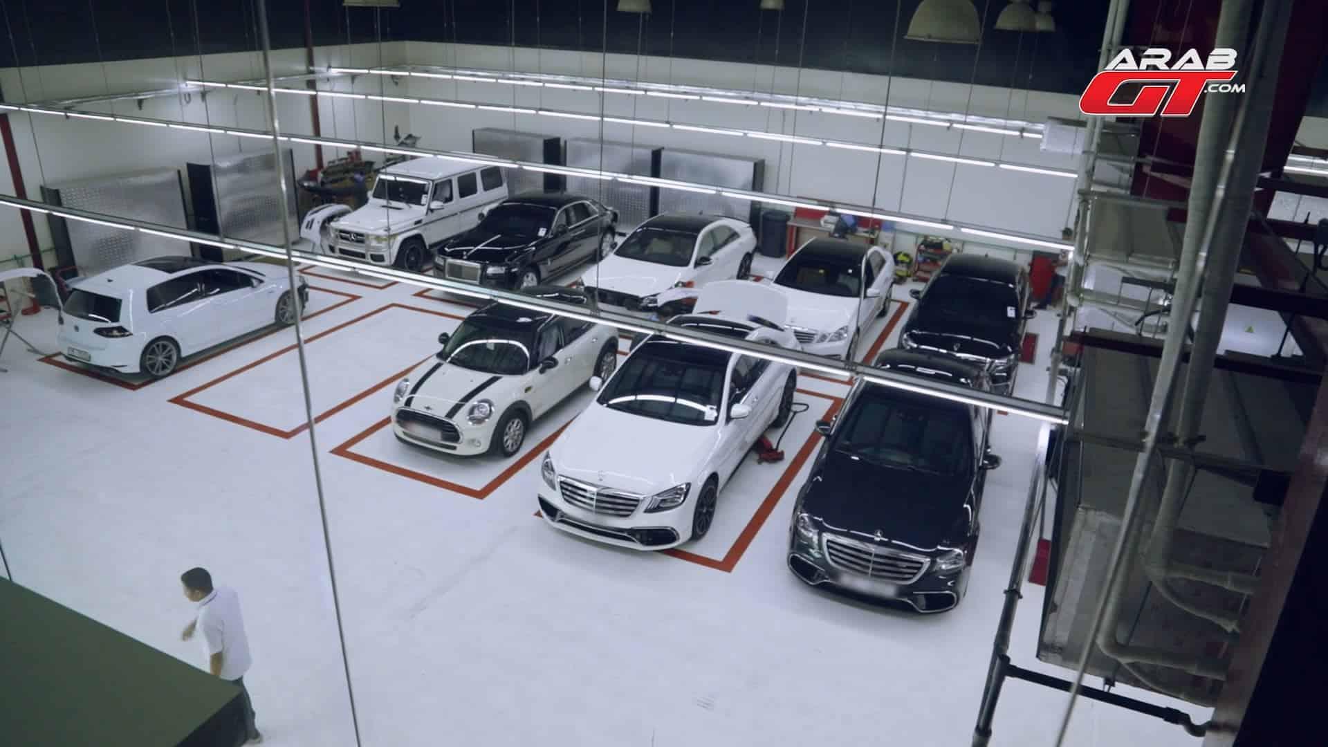 كراج صيانة سيارات