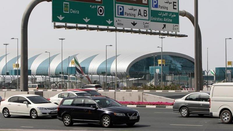 مخالفة نقل الركاب مطار دبي